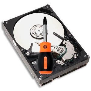 восстановление файлов диска