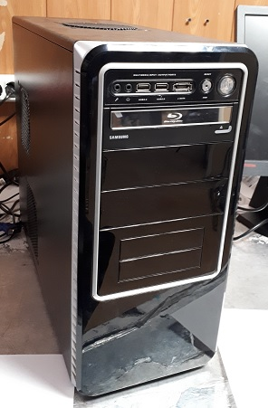 Мощный  БУ игровой компьютер на i7-3770