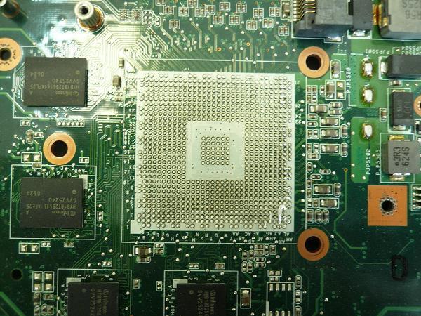 Замена видеочипа и чипсета