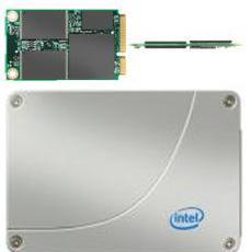 SSD диски от Intel объемом 40Gb и 80Gb