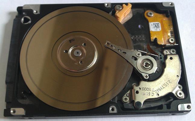 Неисправноть жесткого диска ноутбука