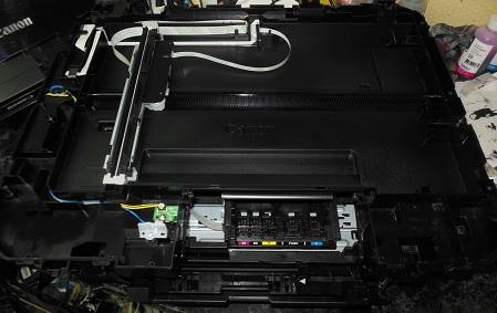 ремонт сканера МФУ Canon