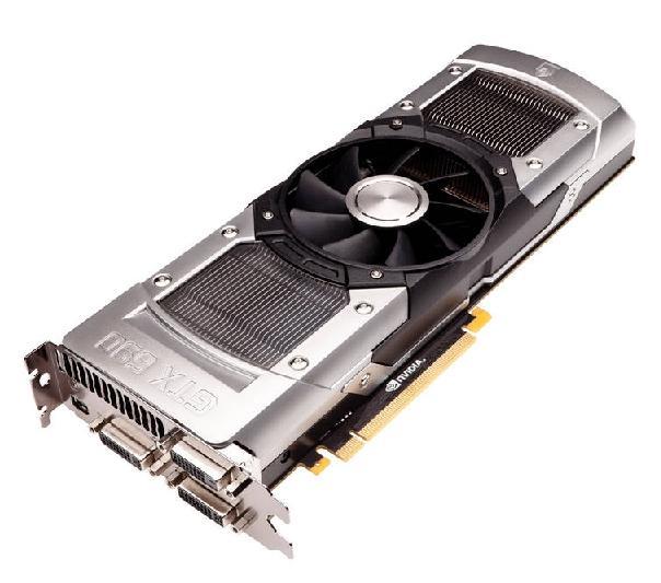 Самая мощная видеокарта Asus GTX 590