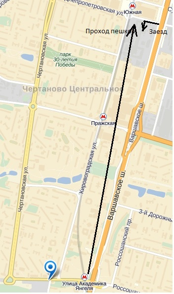 Ремонт ноутбуков Янгеля схема проезда.