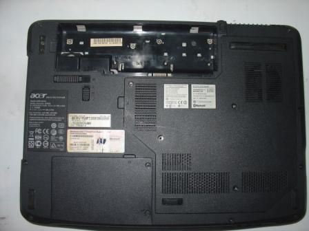 Корпус ноутбука Acer Aspire 5520 снизу