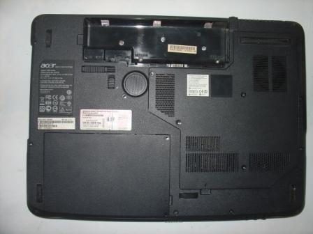 Корпус Acer Aspire 7520 вид снизу