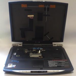 Корпус ноутбука Toshiba S5100-503