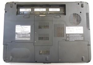 Корпус ноутбука Toshiba Sattelite A300D нижняя крышка базы