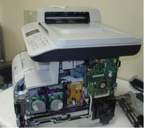 ремонт цветных лазерных МФУ