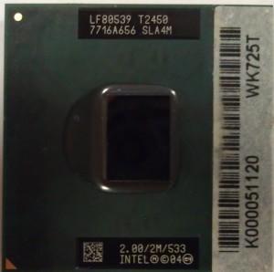T2450 процессор для ноутбука
