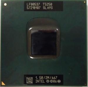 T5250 процессор для нотубука