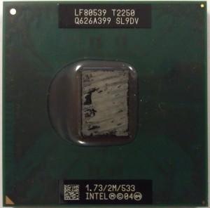 T2250 процессор для ноутбука