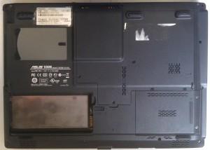 Корпус ноутбука X50N