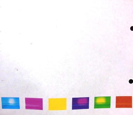 В эпсоне не печатает синий цвет