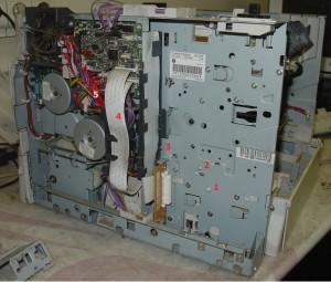 разборка HP LJ 4250-1-2