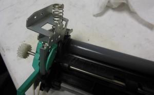 установка новой термопленки в HP LJ1320