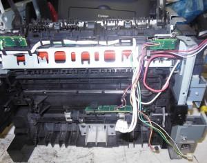 MF4018 снятие печки