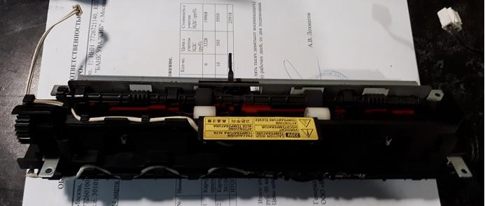 Ремонт печки Samsung SCX4300