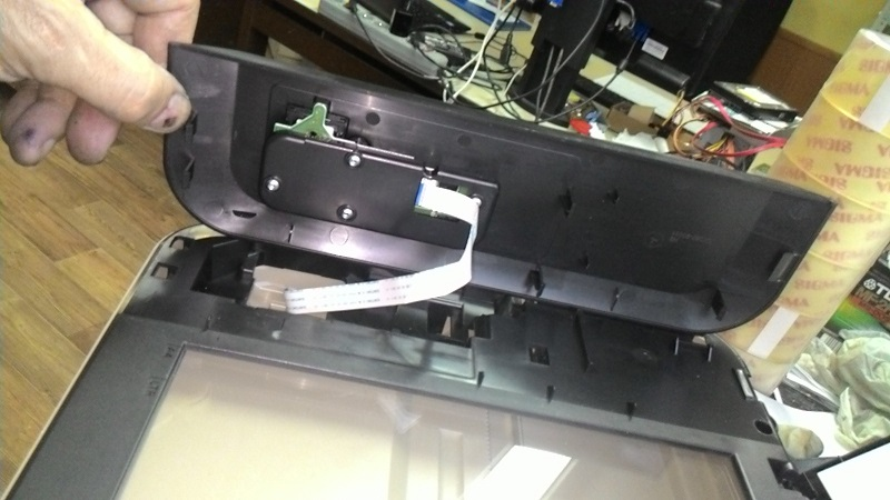 разборка HP DeskJet Ink Advantage 2515