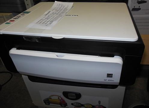 Ремонт подачи бумаги ricoh SP 100SE