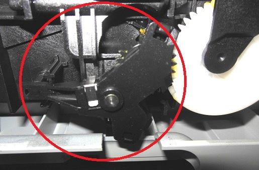 Ремонт маятникового редуктора HP Photosmart C5283