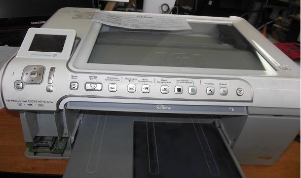 Ремонт принтера HP Photosmart C5283
