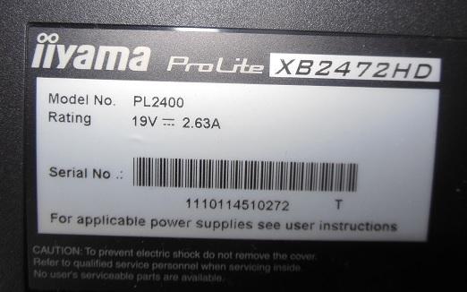 ремонт монитора iiyama xb2472hd