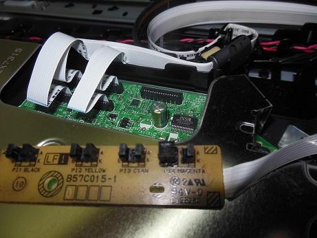 Brother MFC-J825DW ремонт датчика наличия картриджей