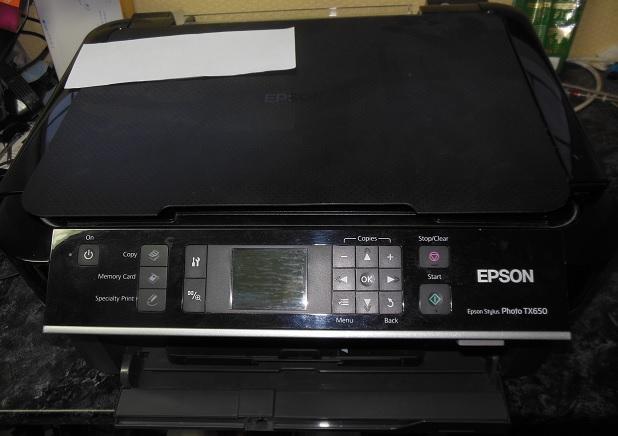 Разборка Epson tx650
