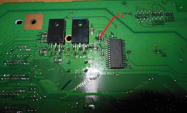 предохранитель и транзисторы Epson TX650