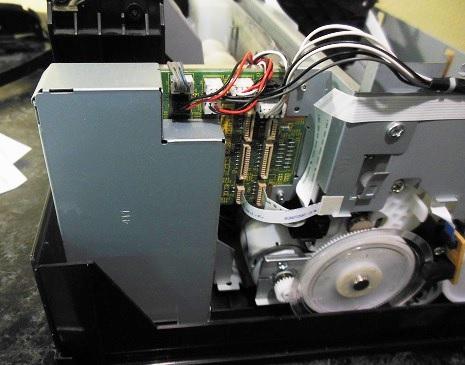 замена форматера Epson L800