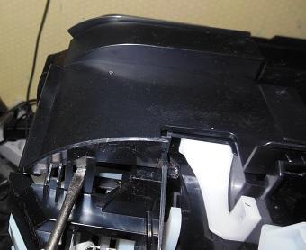 снимаем переднюю крышку Canon MX924 2