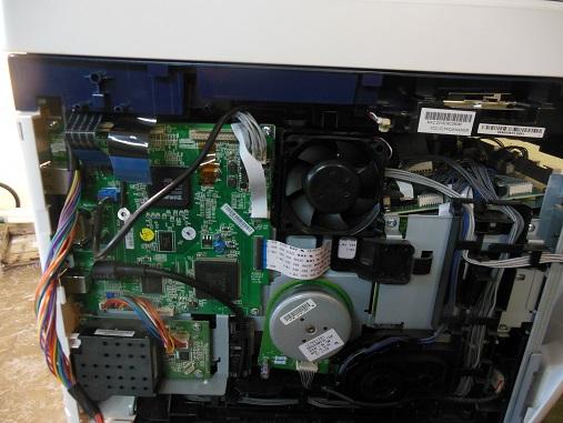 Снятие сканера МФУ Xerox WC 6015