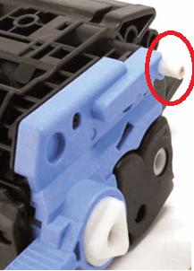 разборка картриджа HP305A