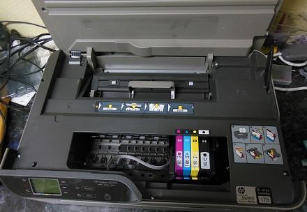 HP Deskjet 3070A не печатает черным