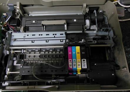 HP Deskjet 3070A разборка
