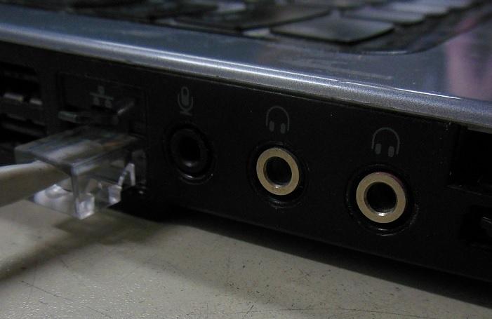 замена  звуковых разъемов ноутбуков