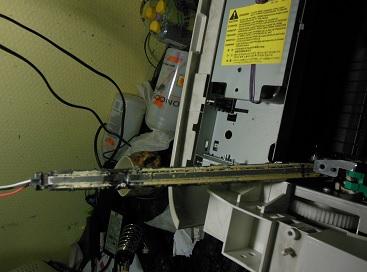 Очищаем термоэлемент MF3228
