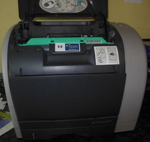 ремонт принтера HP Color LaserJet 2250n