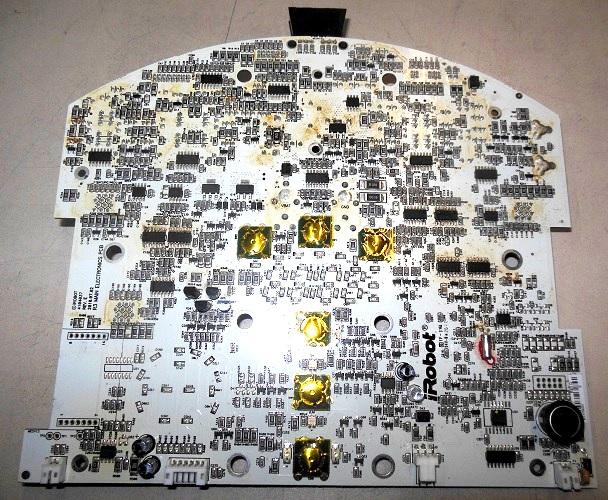 материнская плата iRobot roomba после ремонта