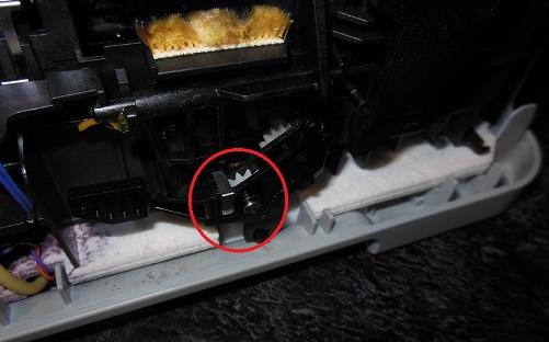 ремонт замятия бумаги HP C6383