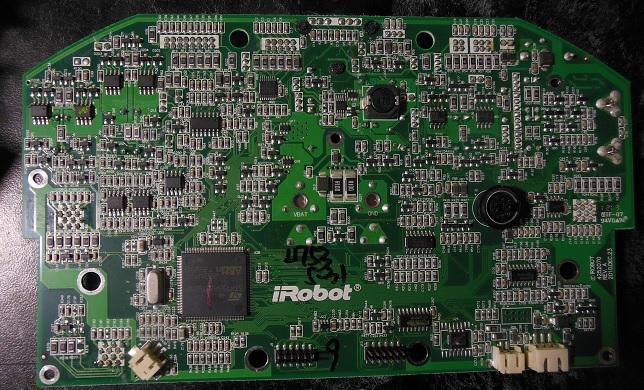 ремонт материнской платы irobot roomba 780