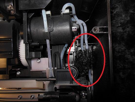 HP Photosmart C6383 не чистит головку