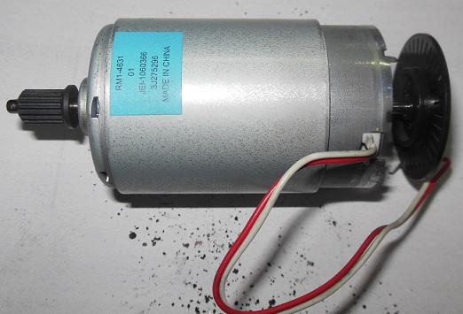 HP M1522nf замена двигателя
