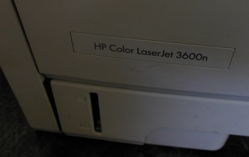 ремонт HP Color Laserjet 3600n