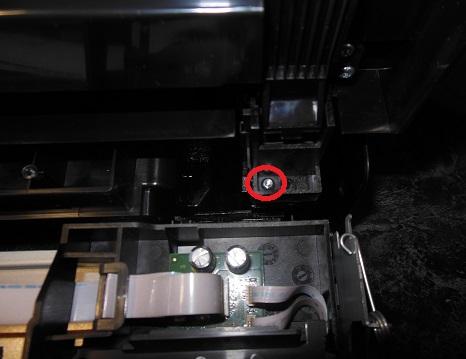 снимаем сканер HP 6500A