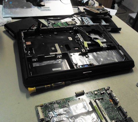 разборка ноутбука Asus K40AB для ремонта