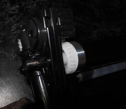 Блок фотобарабана Kyosera SF-1025, разборка