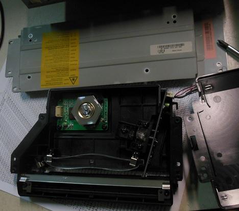 неисправность LSU Xerox PE 120i