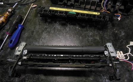 ремонт печки HP LJ 1536dnf MFP